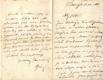 Alois Jirásek - rukopis, podpis - dvoulist