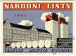Kalendář Národní listy 1941 - Pražská Akciová Tiskárna