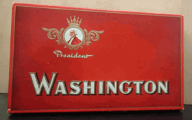 Washington - President - krabička od cigaret