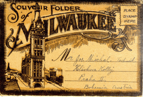 Souvenir Folder Milwaukee